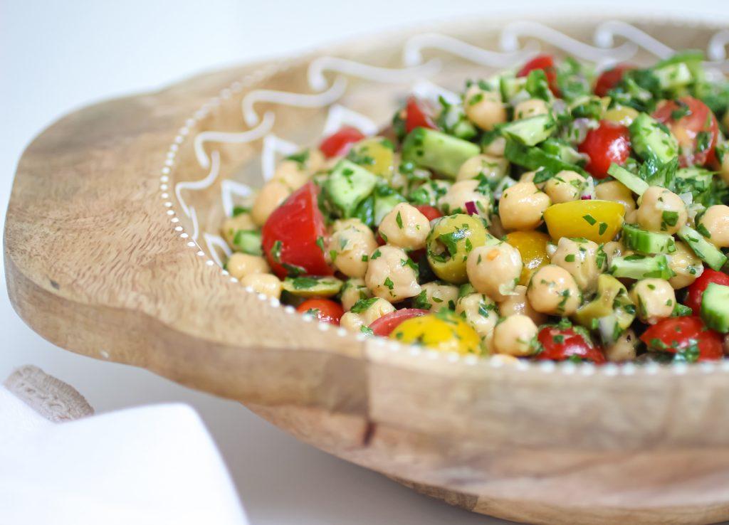 Best Ever Chickpea Salad