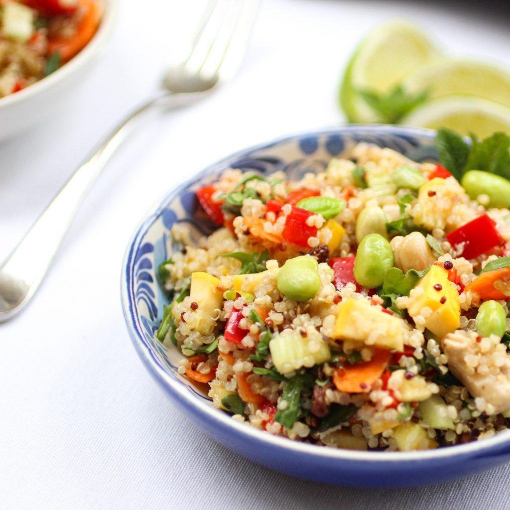 a healthy Quinoa Salad