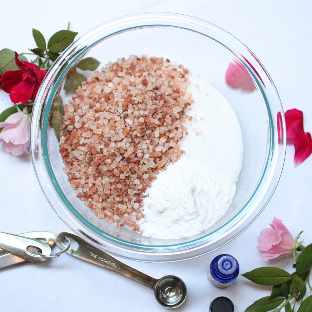 easy homemade bath salts