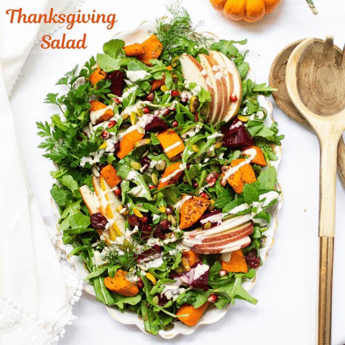 Thanksgiving salad