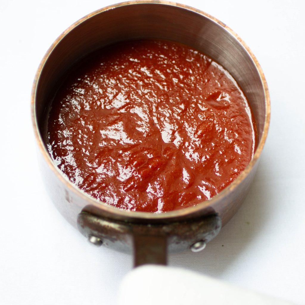 Homemade Vegan BBQ sauce