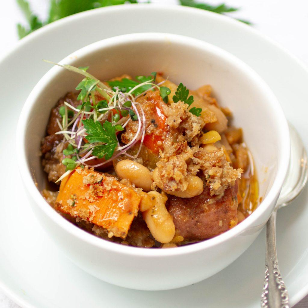 vegan cassoulet