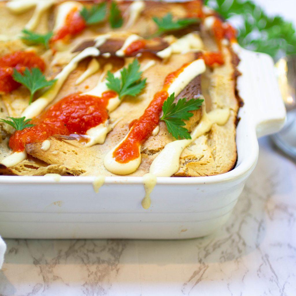 The Best Vegan Lasagne