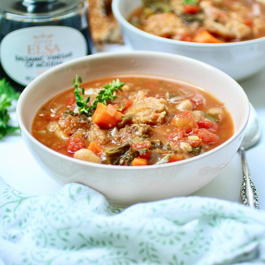 Tuscan Ribollita Soup