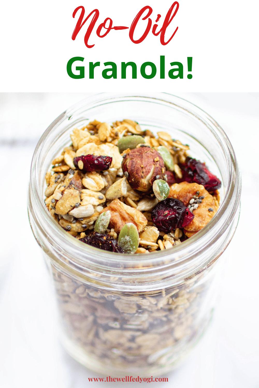No-oil Granola