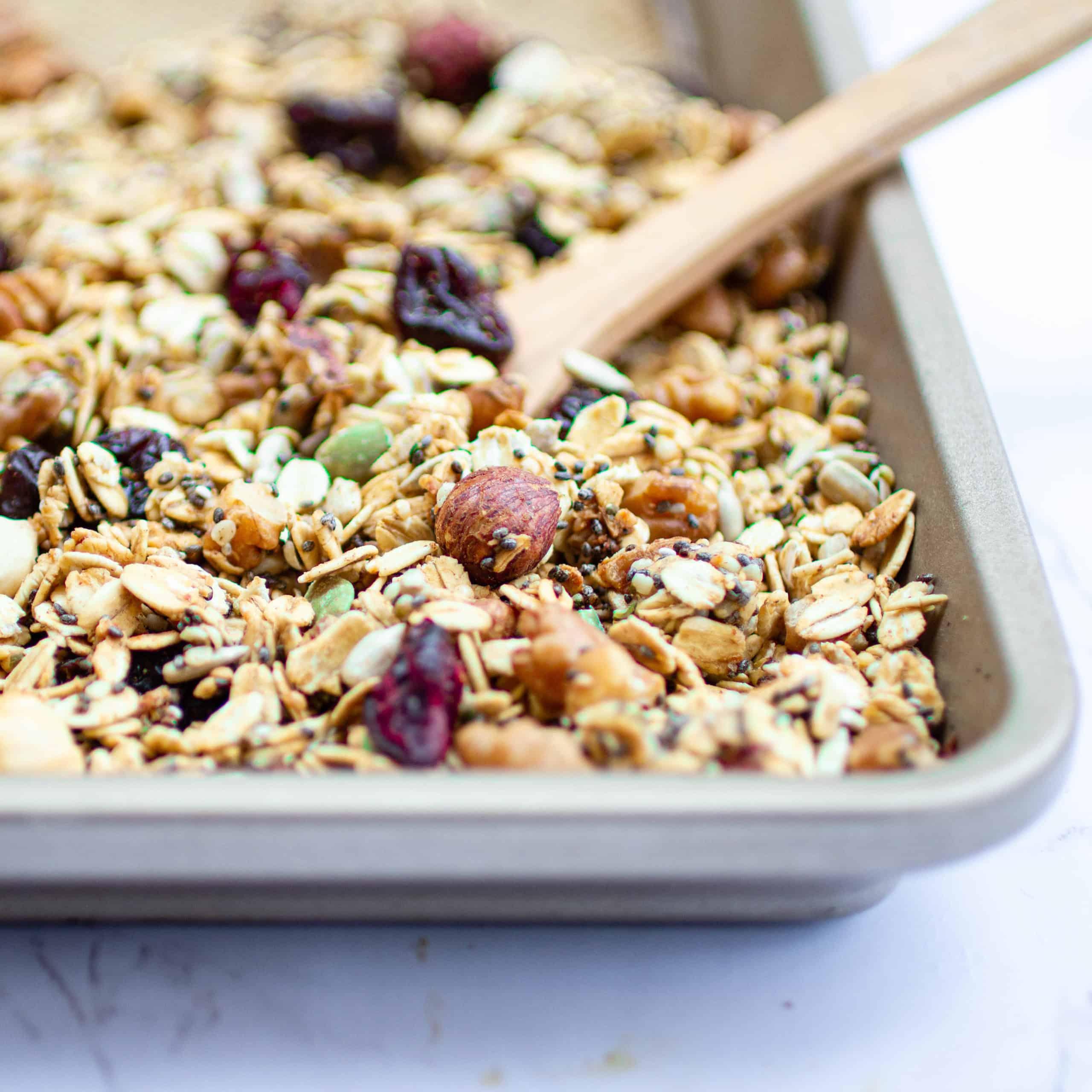 No-oil granola recipe