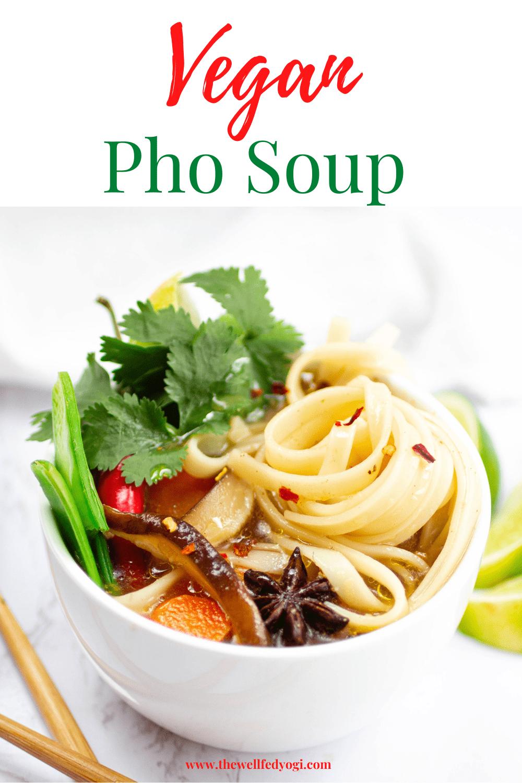 Vegan Pho Soup Pinterest