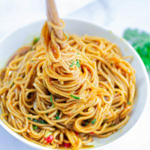 Vegan Teriyaki Noodles