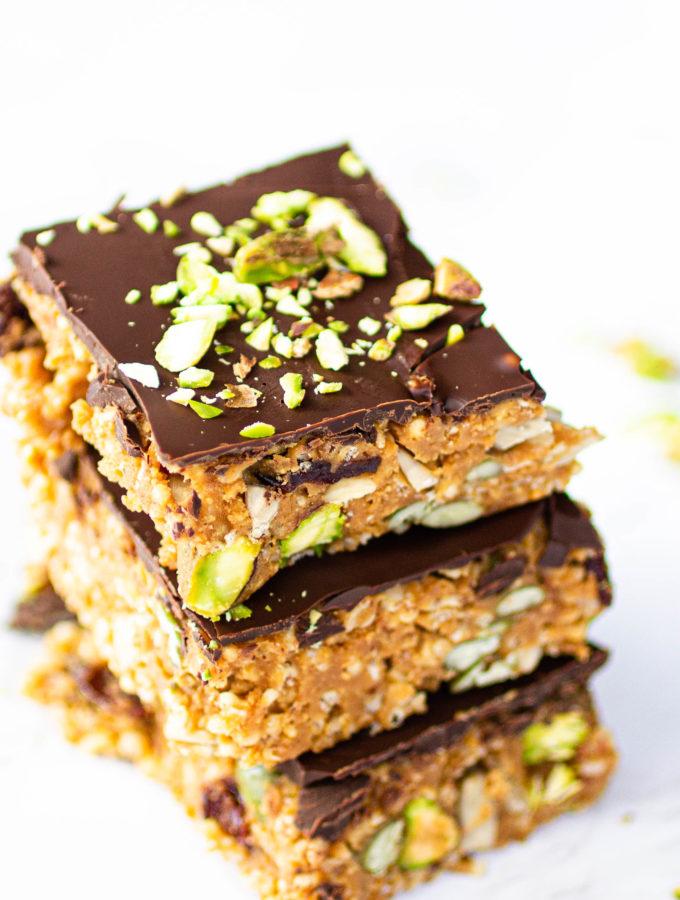 Puffed Quinoa Bars-