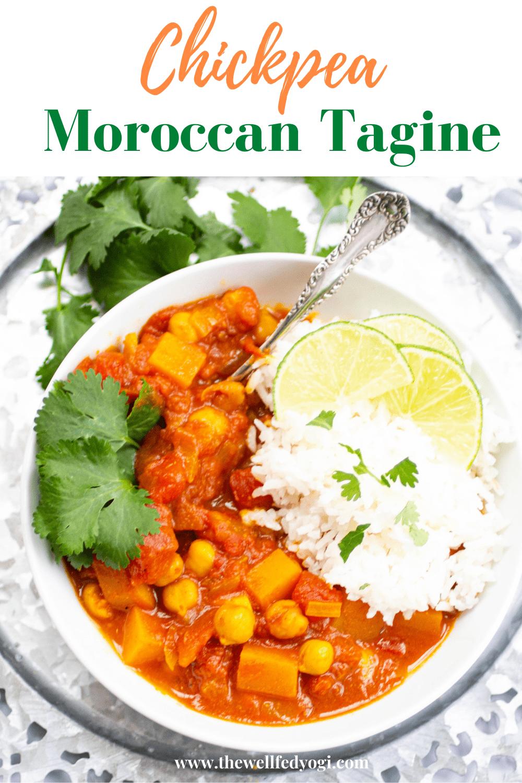 Vegan Moroccan Tagine pin