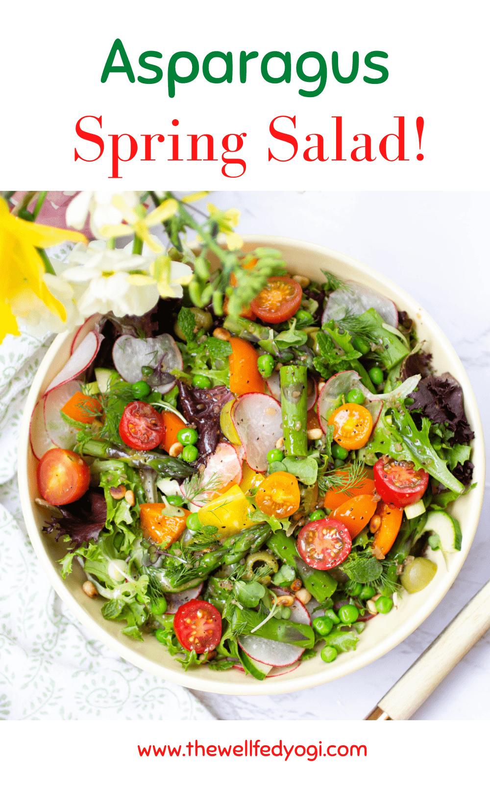 Asparagus Spring Salad Pin